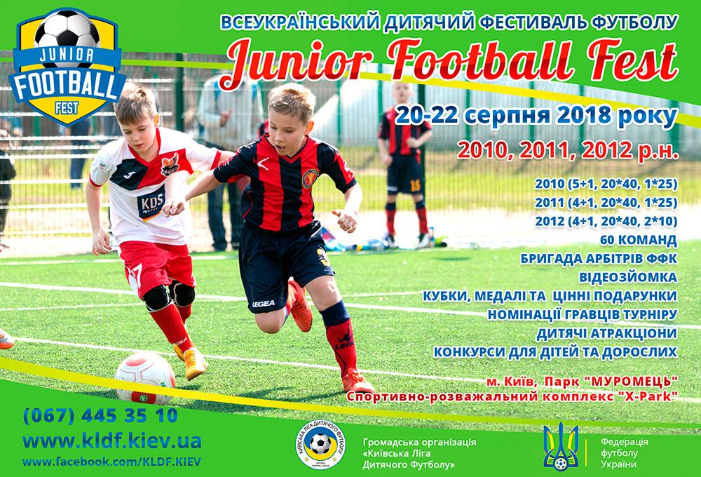 JUNIOR FOOTBALL FEST 2018